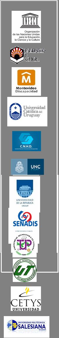 Logos de las instituciones y entidades que colaboran con Creática Fundación FREE.